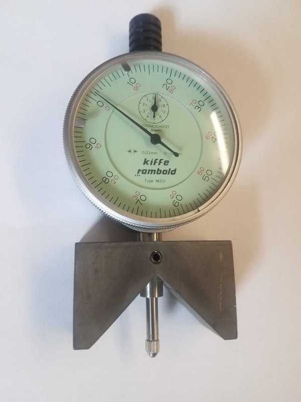 DIAL INDICATOR GAUGE A-1733 - Item # 17658 - United Textile Machinery Corp.