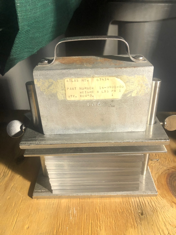 AATCC PERSPIRATION TESTER - Item # 17763 - United Textile Machinery Corp.
