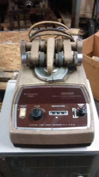 abrasion tester - Item # 17020 - United Textile Machinery Corp.