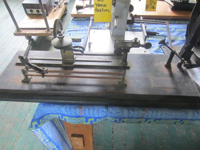 YARN REELER B-1187 - Item # 17368 - United Textile Machinery Corp.