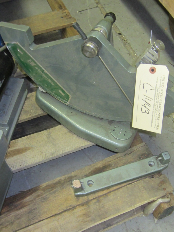 TESTER - PARTS C-1443 - Item # 17501 - United Textile Machinery Corp.