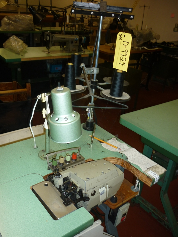 sergers, overlock sewing machine D-9924 - Item # 17033 - United Textile Machinery Corp.