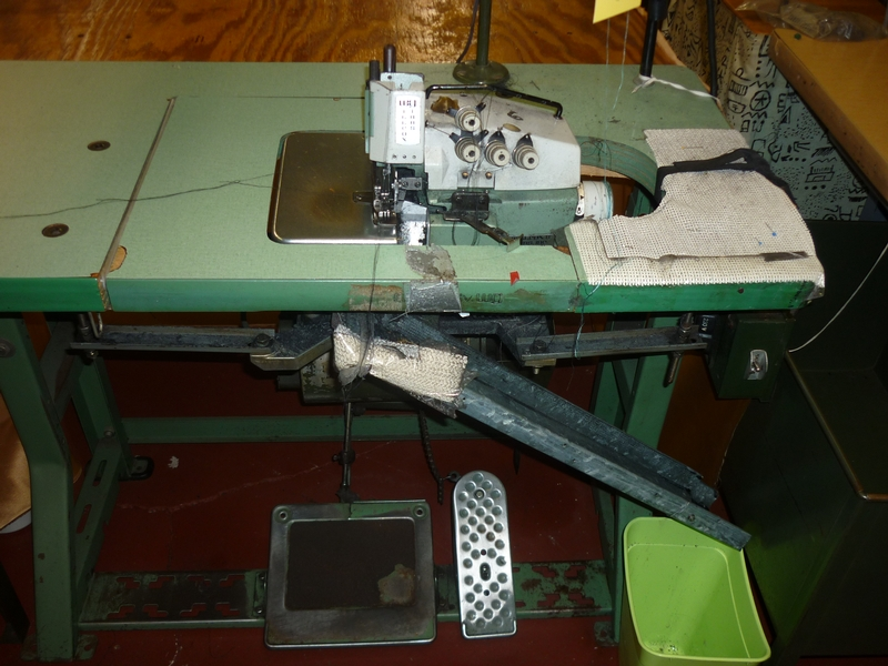 sergers, overlock sewing machine D-9926 - Item # 17035 - United Textile Machinery Corp.