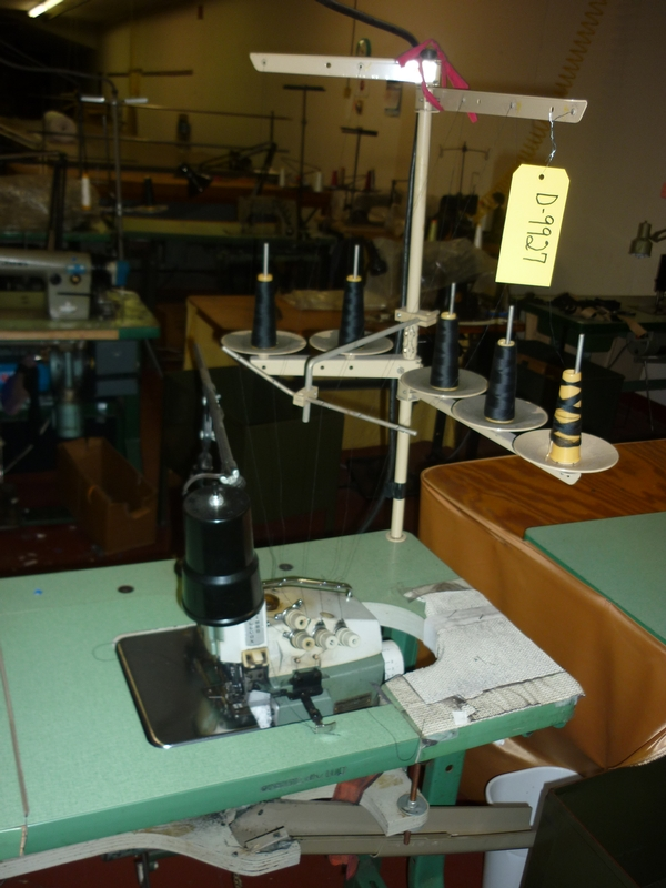 sergers, overlock sewing machine D-9927 - Item # 17036 - United Textile Machinery Corp.