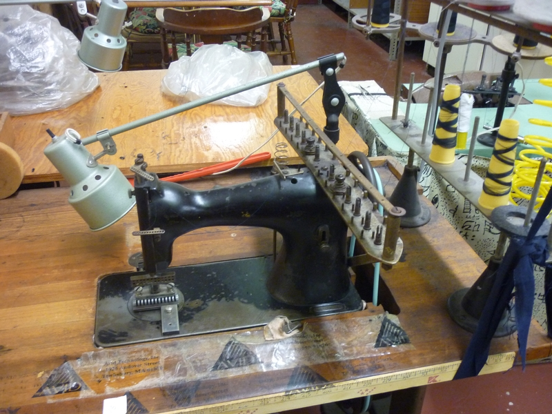 multi-needle sewing machine D-9932 - Item # 17043 - United Textile Machinery Corp.