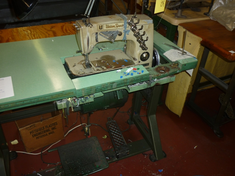 coverstitch sewing machine D-9935 - Item # 17046 - United Textile Machinery Corp.