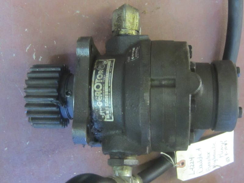 DOUBLE A HYDRAULIC PUMP L-1224 - Item # 17379 - United Textile Machinery Corp.