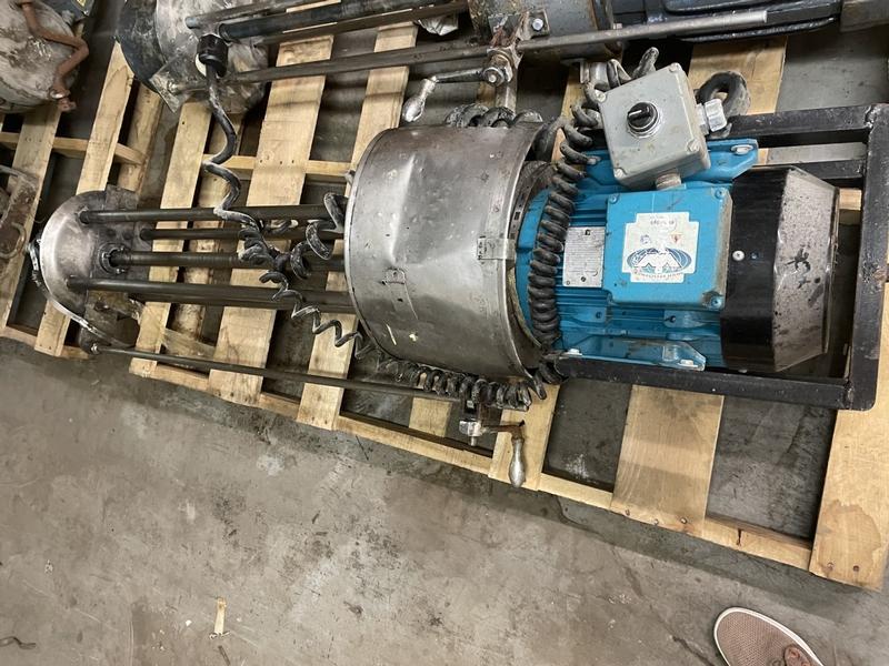 HOMOGENIZING MIXER L-2041 - Item # 17782 - United Textile Machinery Corp.